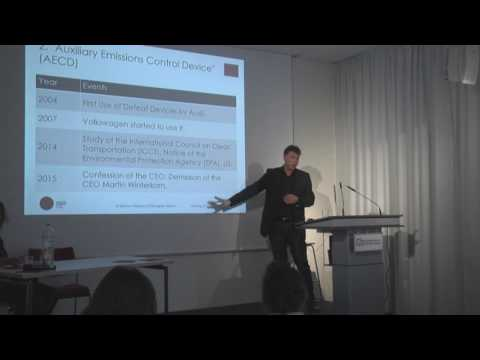 Vortrag von Prof. Dr. Markus Pohlmann: Corruption and Cheating in Germany and Brazil