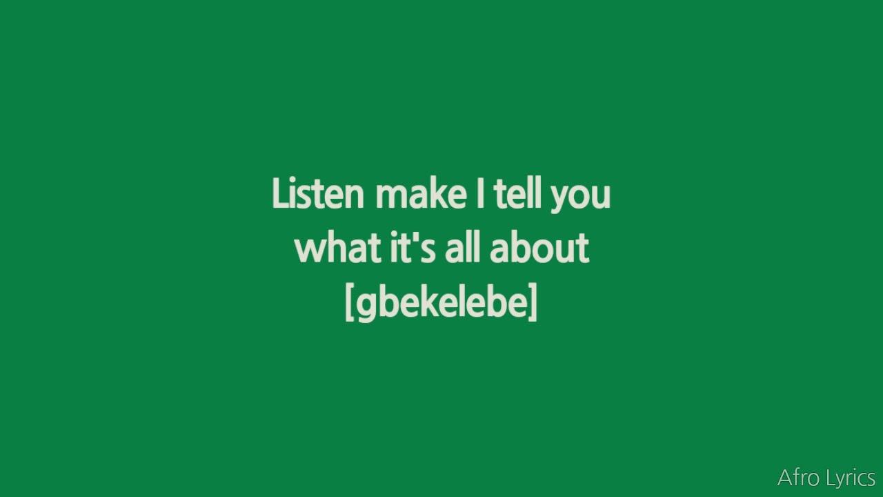 Burna Boy - Gbona (Lyrics)