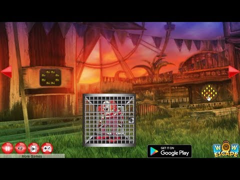 Wow Escape Game Save The Circus Joker walkthrough.