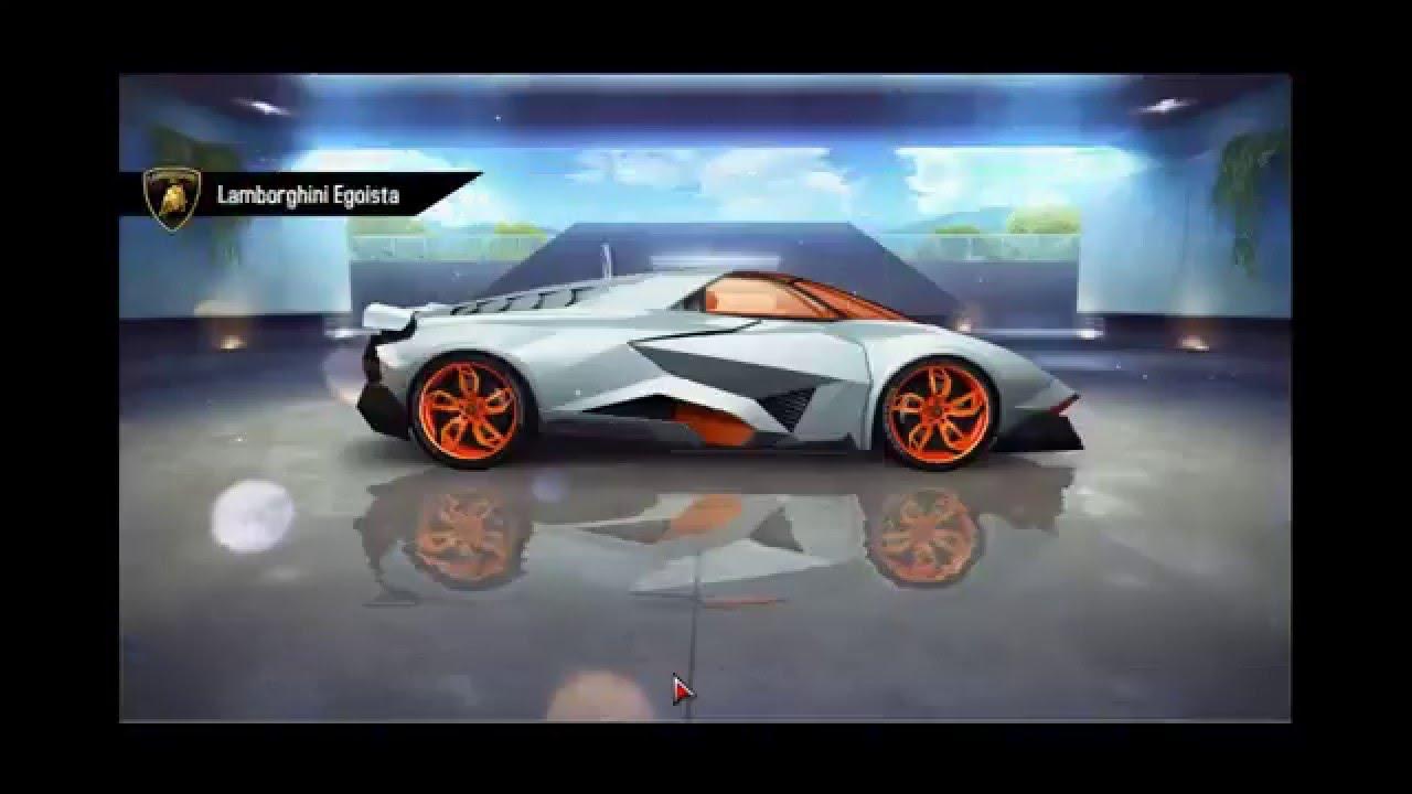 Hack. Lamborghini Egoista. Unlocking Infinite