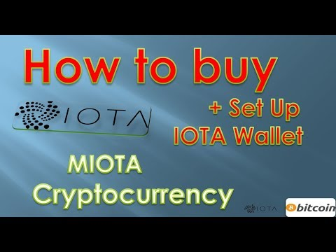 How To Buy IOTA Cryptocurrency With Bitcoin Using Bitfinex And Setup Iota Wallet