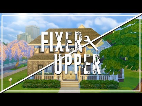 MY FIRST HOUSE // The Sims 4: Fixer Upper - Home Renovation
