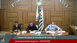 Câmara Municipal de Colina - 5ª Sessão Extraordinária 26/05/2020