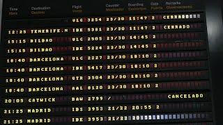 Escaso tráfico en el aeropuerto de Sevilla