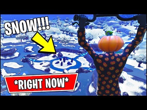 *NEW* Fortnite Update!! SNOWING EVENT In Fortnite *LEAKED*