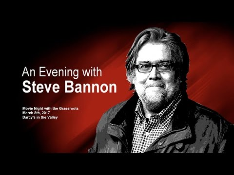 MNGR - An Evening with Steve Bannon - 03-08-2017