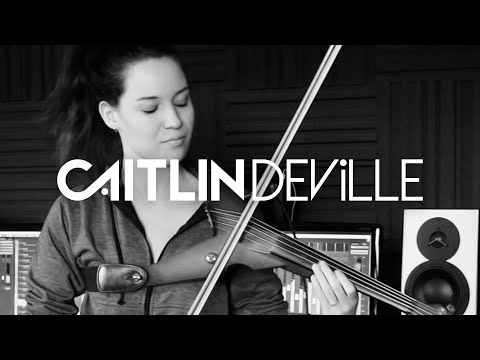 Attention (Charlie Puth) #JourneyOfWater - Electric Violin Studio Cover | Caitlin De Ville
