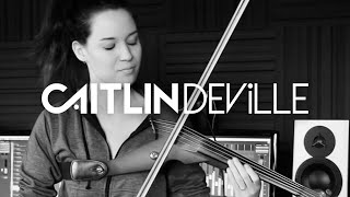 Attention (Charlie Puth) - Electric Violin Studio Cover | Caitlin De Ville
