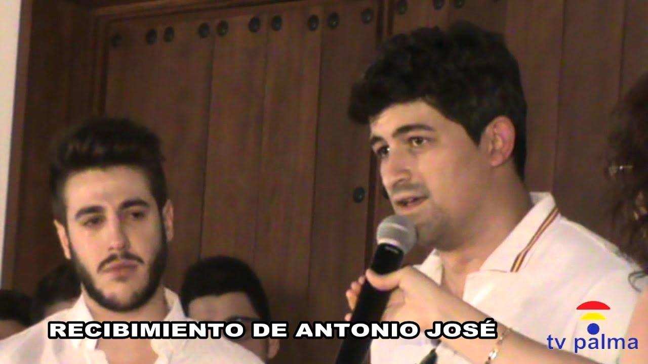Recibimiento de antonio jos en palma del r o youtube - Antonio palma ...