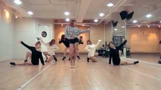 Hyolyn 'One Way Love' mirrored Dance Practice
