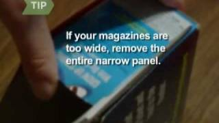 How to Make a Magazine Holder Out of a Cereal Box