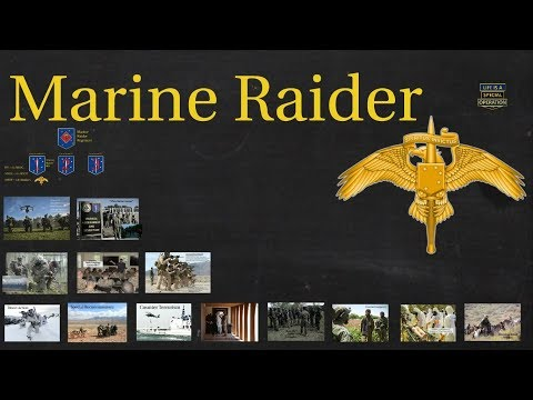 MARSOC Raiders Explained – What is Marine Special Operations
