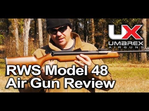 RWS Model 48 Air Gun Pellet Rifle Features Review : Umarex Airguns