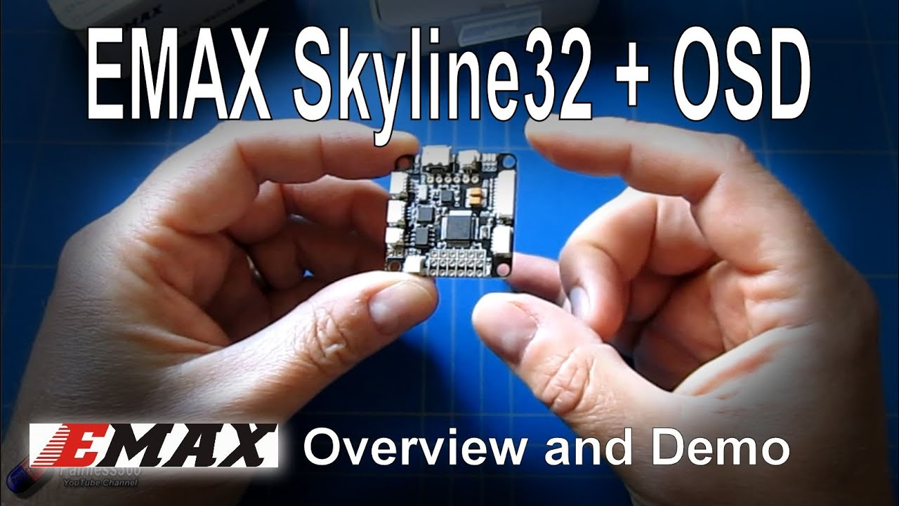 Rc Reviews Skyline32 Osd Advanced Flight Controller From Emax Youtube Cc3d Telemetry Wiring Diagrams