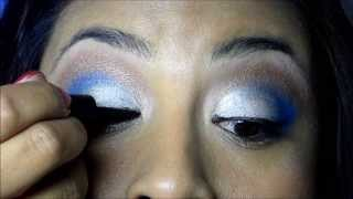 Blue silver and brown look Thumbnail