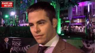Chris Pine Interview - Rise Of The Guardians Premiere