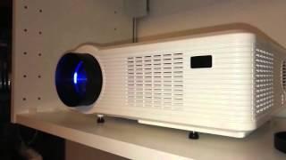 Test Excelvan 3D HD Projecteur LED à 3000 Lumens FR