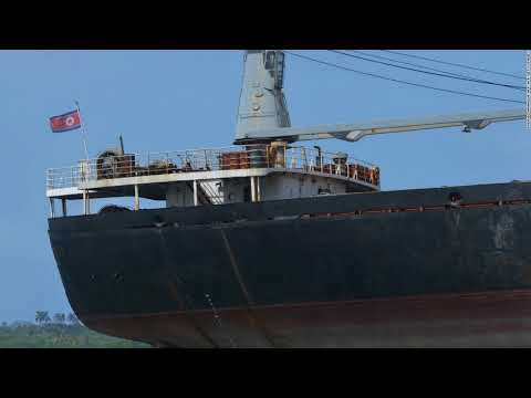 UN bans 4 ships from all ports for North Korea ties