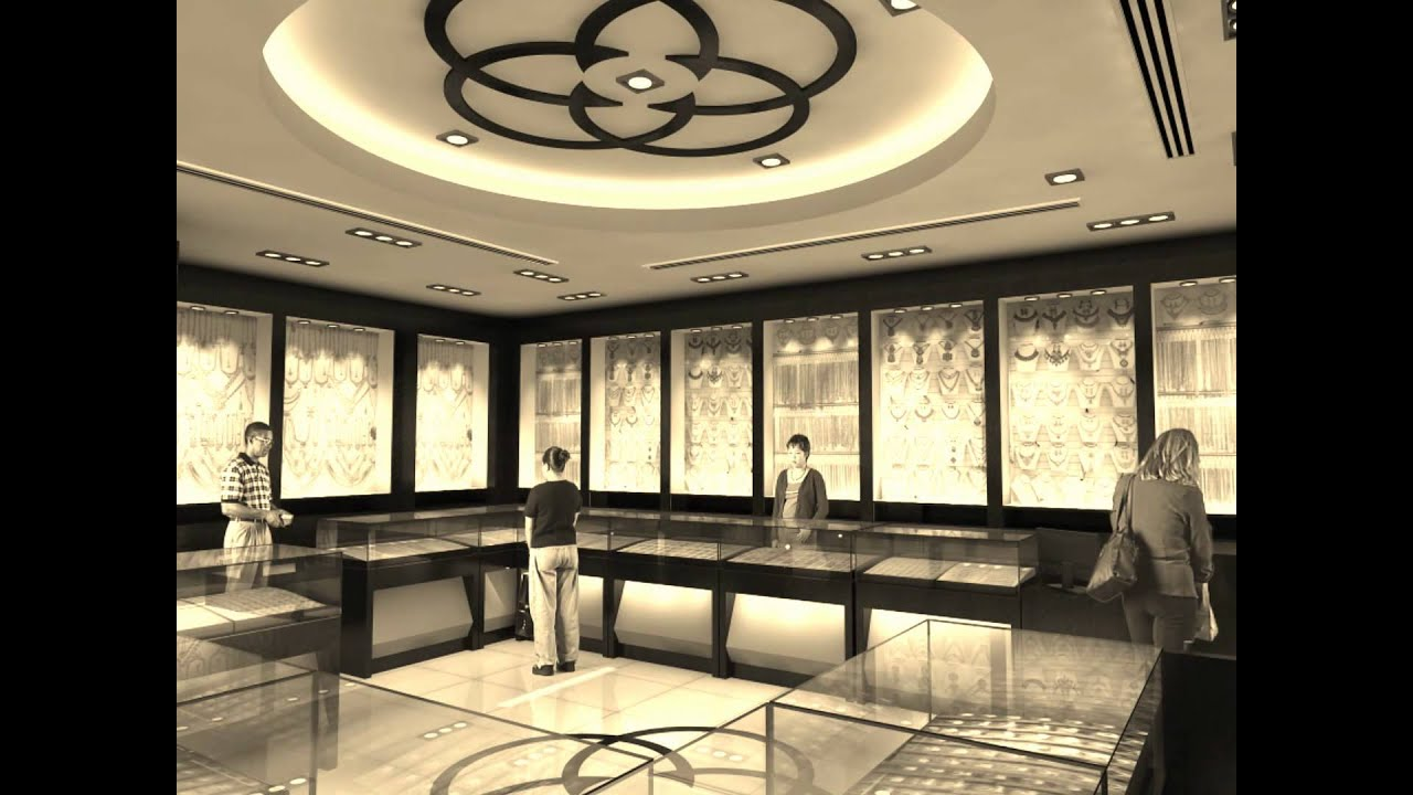 Interior Decoration Jewellery Shop