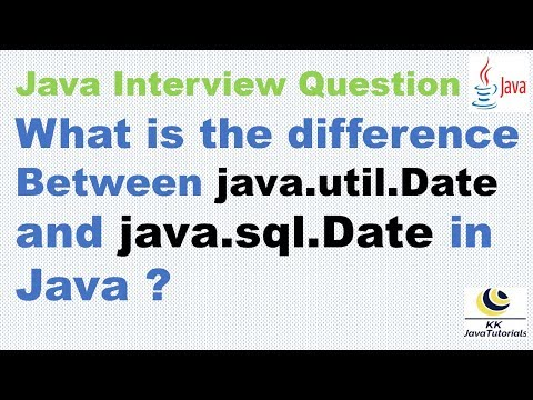 what-is-the-difference-between-java-util-date-and-java-sql-date-in-java-?