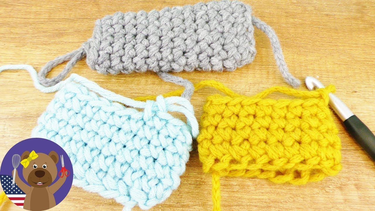 Crocheting X-Pattern | Super Simple Patter | DIY Wool Ideas - YouTube