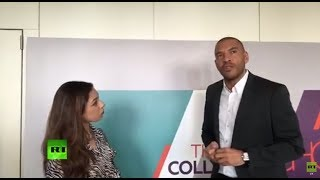 Football star Stan Collymore speaks on new RT show (FACEBOOK LIVE)