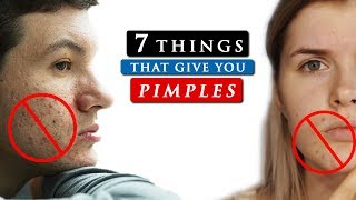 What causes PIMPLES on your face and how to GET RID OF IT
