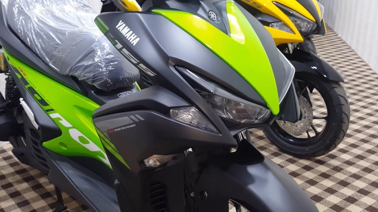 2018 yamaha aerox | yamaha scooter | spec | features | price 2018