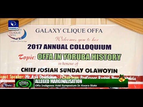 Offa Indigenes Decries Alleged Marginalisation In South West  News Across Nigeria 