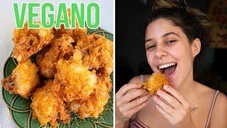 Frango Frito Vegano Super Crocante!!!