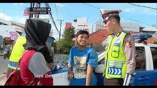 Lucunya Reaksi Pemuda Asal Brebes ini Saat Ditilang 86