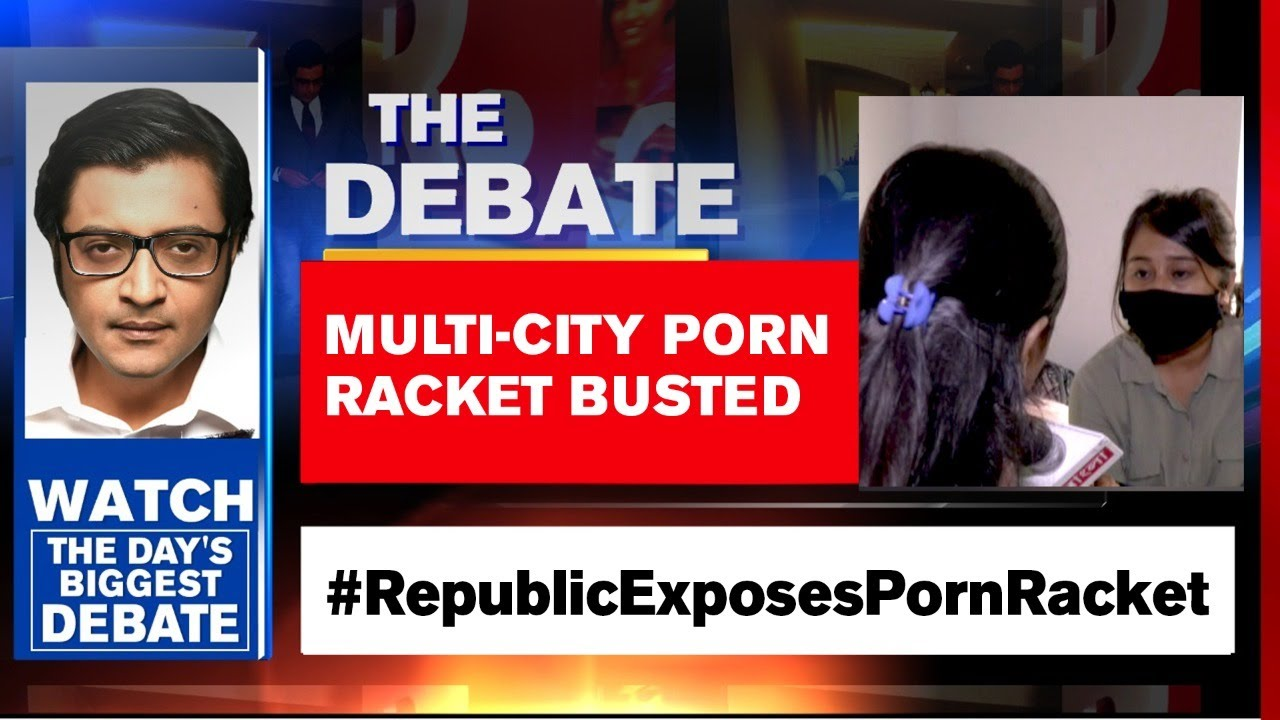 Kundra Porn Racket Probe Explodes; Links To 3 Countries Emerge   The Debate With Arnab Goswami