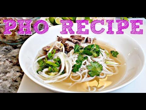 Vietnamese Beef Noodle Soup Recipe | Pho Bo Recipe | Simply Mama Cooks