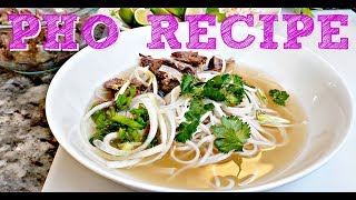 Vietnamese Beef Noodle Soup Recipe | Pho Bo Recipe | Simply Mama Cooks