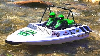 RC ADVENTURES - Tiny Jet Boats Racing - PT 1 of 2 - Convergence: Gathering of the Racers