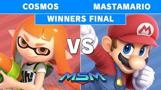 MSM 211 - PG | Cosmos (Inkling) Vs POW | Mastamario (Mario) Winners Finals - Smash Ultimate