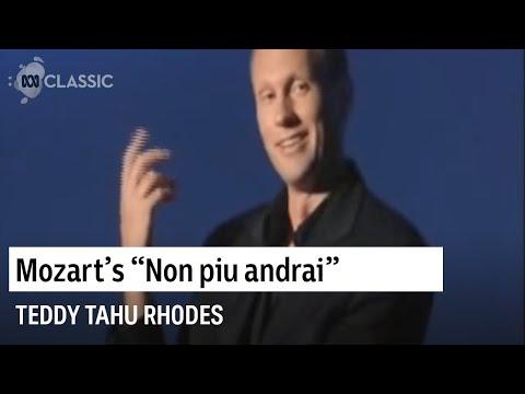 Teddy Tahu Rhodes sings Mozart's Non piu andrai