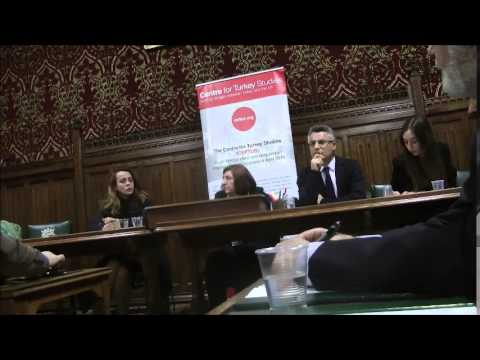 CEFTUS Westminster Debate 'Structural Changes ahead of 2015 General Elections in Turkey' 1