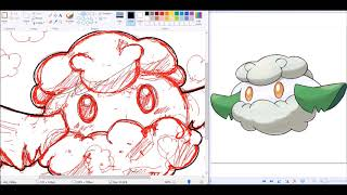 I CHOOSE YOU! Shiny Cottonee [Speedpaint]