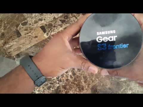 Samsung Gear S3 Frontier At 4g Lte Unboxing Setup And Initial Review Standalone