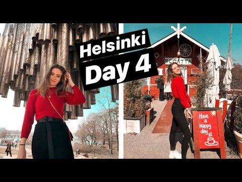 Helsinki Day 4 | Cafe Regatta | Sibelius Monument | Allas sea pool | Uspenski Cathedral