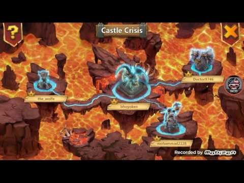 Castle Clash - Castle Crisis Archdemon Last Day And Opening Rewards