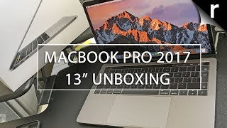 Macbook Pro 2017 unboxing: 13-inch Touch Bar model with Kaby Lake!