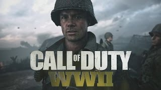 Official Call of Duty WWII In Game Footage Reveal Trailer