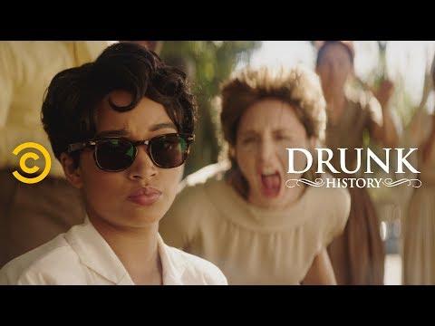 The Little Rock Nine Take on Segregation in Schools (feat. Amandla Stenberg) - Drunk History