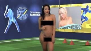 Телеведущая венесуэльского телеканала разделась в прямом эфире - 2 мая 2015