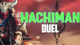 Hachiman Ranked Duel: TAKING ON ITSYOURMAMI - Incon - Smite