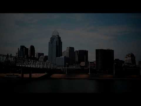 2017 Eclipse over Cincinnati, Ohio, Skyline