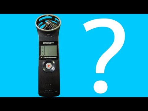 How to use the Zoom H1 Handy Recorder