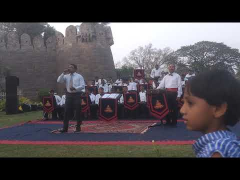 Indian Army Officer Singing A Nice Song